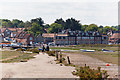 TG0244 : Quay front at Blakeney by Peter Facey