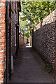 TG0243 : Little Lane, Blakeney by Peter Facey