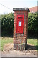 TF8538 : Post box North Creake by Dave Clarke