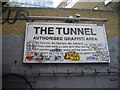 TQ3079 : Sign The Tunnel, Leake Street London by PAUL FARMER
