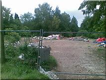 SU8992 : Demolished house, Hammersley Lane by Alex McGregor