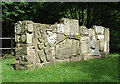 SJ9152 : Canalside sculpture at Stockton Brook, Staffordshire by Roger  Kidd