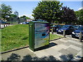TQ4378 : Openreach super-fast broadband cabinet, Woolwich by Stacey Harris