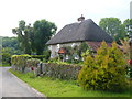 SU7810 : Thatched Cottage in Walderton by Colin Smith