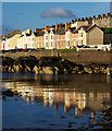 J5082 : Reflected terraces, Bangor by Rossographer