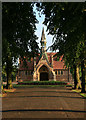 SK4833 : The Long Eaton Cemetery Chapel by David Lally