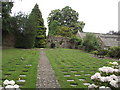 SX9173 : Garden of Rest and Chapel Remains by Anthony Vosper