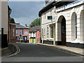 TM3877 : Shops in Chediston Street, Halesworth by Evelyn Simak