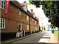 TM3877 : Former almshouses, Halesworth by Evelyn Simak