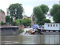 TQ2177 : Slipway at Chiswick by Malc McDonald