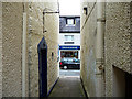 NG4843 : Alley off Wentworth Street, Portree by John Allan