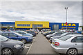 NT2765 : Entrance and Car Park IKEA by Tom Richardson