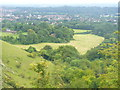 TQ2451 : Reigate from Saddle Knob by Colin Smith