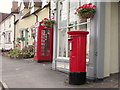 TL6730 : Telephone box and postbox, Great Bardfield by nick macneill