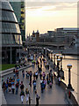 TQ3380 : The South Bank from Tower Bridge by Christine Matthews