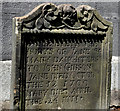 J2664 : Headstone, Lisburn Cathedral (2) by Albert Bridge