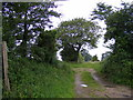 TM4565 : Restricted Byway to Baker's Hill by Adrian Cable