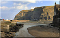 NZ7818 : Staithes Harbour by David Dixon