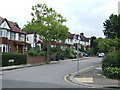TQ2289 : St. Mary's Crescent, Hendon by Malc McDonald