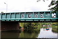 TL3706 : Bridge over River Lee, Broxbourne, Hertfordshire by Christine Matthews