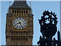 TQ3079 : London: Big Ben and ornate ironwork by Chris Downer