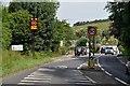 SX0363 : Lanivet : Truro Road by Lewis Clarke