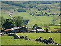 SK1678 : Farm buildings at Coplow Dale by Peter Barr