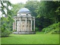 ST7733 : Temple of Apollo at Stourhead by David Smith