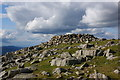 NY2809 : High Raise summit cairn by Ian Greig