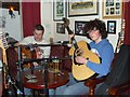 G7390 : Interior, Corner Bar, Ardara (3) by Kenneth  Allen