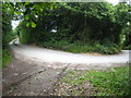 SX0268 : Hairpin bend near Lower Burlorne by Rod Allday