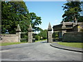 SE3059 : The former entrance to Nidd Hall (now a hotel) by Ian S