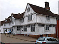 TL9149 : Guildhall, Lavenham by Tim Marchant