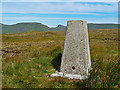 NG4356 : The trig point on Beinn a' Sgà by John Allan