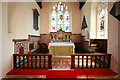 TL4845 : St Peter, Duxford - Sanctuary by John Salmon