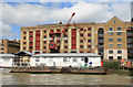 TQ3480 : King Henry's Wharves, Wapping by Chris Allen