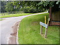 TG0827 : Church Lane &amp; Road Name sign by Adrian Cable
