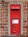 TG0827 : Church End Victorian Postbox by Adrian Cable