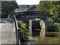 SD9927 : Rochdale Canal, Bridge #17 by David Dixon