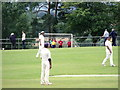TQ4720 : Cricket and football at Victoria Pleasure Ground, Uckfield by nick macneill