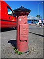 J3072 : Boundary Post, Belfast by Rossographer