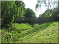 TQ4769 : Footbridge over River Cray by David Anstiss
