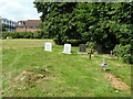 TQ4259 : Missionary graves, Biggin Hill Cemetery by Robin Webster