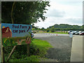 TQ4358 : Foal Farm car park by Robin Webster