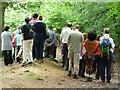 SE1426 : Participants on the Archaeology Walk, Judy Woods by Christine Johnstone