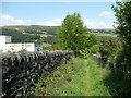 SE0025 : Hebden Royd Footpath 44 past the Nest Estate, Mytholmroyd by Humphrey Bolton