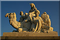TQ2679 : 'Africa', Albert Memorial by Julian Osley