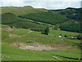 SN7882 : Forestry and old mine, Dyffryn Castell, Ceredigion by Roger  Kidd