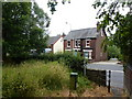 SJ9689 : Footpath and Edwardian semis, Marple Bridge by Peter Barr