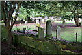 NO1126 : Old graveyard at Scone Palace by Mike Pennington